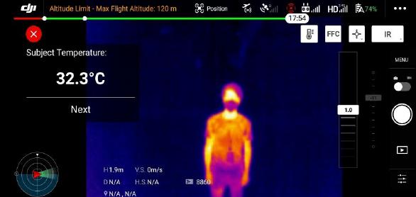 Cara modifikassi drone DJI anda untuk membantu mendeteksi virus corona pada tubuh manusia